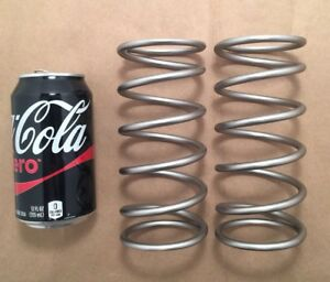 250 Stainless Steel Wire Compression Spring Lot Of 4