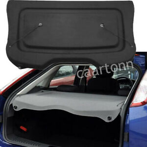 For 2012 2018 Ford Focus Parcel Shelf Cargo Cover Rear Trunk Privacy Shade Black