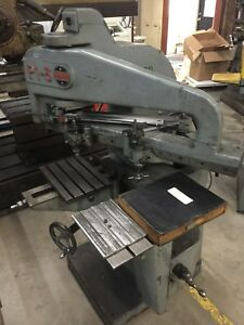 Gorton P1 3 Pantograph 3d Pantomill Engraving Machine With Fonts 3 Phase