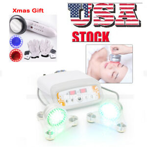 Us Ship Photon Microcurrent Facial Therapy Skin Tighten Devic ultrasound Machine