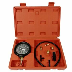 Fuel Pump Vacuum Tester Gauge Leak Carburetor Pressure Diagnostics W Case