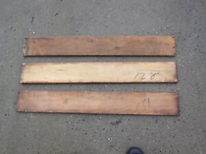 3 Original Macey Or Globe Wernicke Original Top Boards D Size