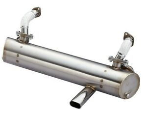 New Vintage Speed Classic Single Tip Stainless Steel Exhaust For Volkswagen Bus