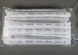 Bag 50 25 Ml Falcon Sterile Extended Capacity Disposable Serological Pipettes