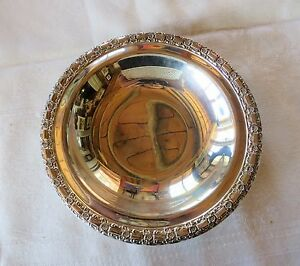 International Camelot 6171 Silverplate Candy Dish Bowl 7 1 4