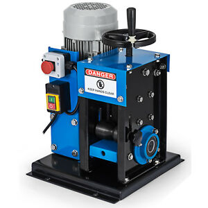 16awg 2 1 4 Electric Wire Stripping Machine Metal Recycle Electric Copper Wire