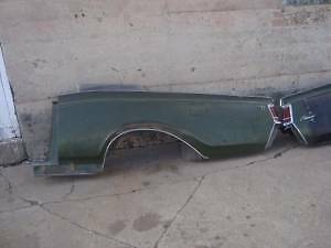 1971 Lincoln Continental Mark Iii Rear Quarters Fenders Project Rat Rod