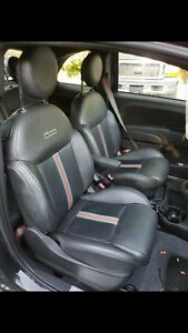 Fiat 500 Gucci Leather Seats