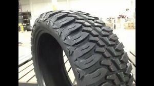 4 New Mile King Mud Champs 33x12 50x20 Eload 10 Ply 33 Inch Mud Tires