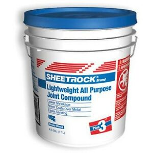 Sheetrock 381466 Lightweight All Purpose Joint Compound Ready Mixed