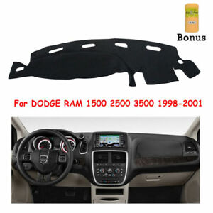 Us Stock For Dodge Ram 1500 2500 3500 1998 2001 Dashmat Dashboard Mat Sun Cover
