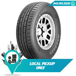 Local Pickup 106t Tire General Grabber Hts60 Owl 235 70r16 Set Of 2x