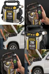 Heavy Duty 700 Amp Battery Jump Starter Compressor Portable Car Charger Booster