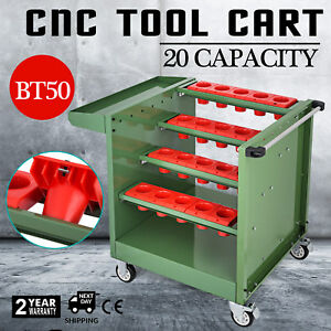 Bt50 Cnc Tool Trolley Cart Holders Toolscoot Cabinet Milling Super Scoot