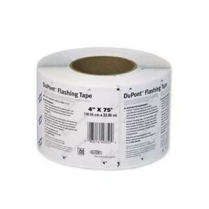 Dupont Tyvek Flashing Tape 4 Roll 75 Ft