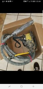 Oztec 2 4mm Concrete Vibrator 14ft Shaft 1 7 8 W 2 Head 2 4hp