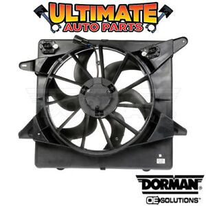 Radiator Cooling Fan 3 0l Or 3 6l For 10 16 Cadillac Srx With Controller
