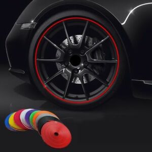 Car Wheel Rim 1 4m Tape Stripes Strip Tire Protector Motorcycle Decoration Ring