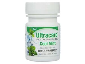 Dental Ultradent Ultracare Topical Oral Anaesthetic Gel Cool Mint