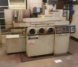Brown Sharpe Techmaster 818 Surface Grinder 8x18
