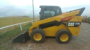 2015 Caterpillar 272d Cab A c Skid Steer Loader 210hrs 98hp 2speed Used