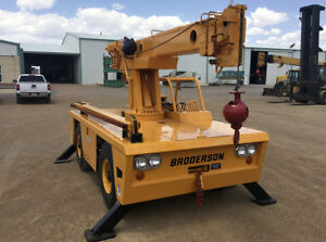 Broderson Ic 701a Carry Deck Crane 6 Tons Diesel 10 Jib