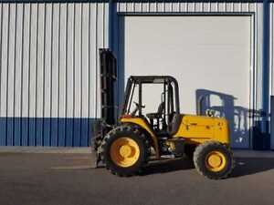 Forklift Jcb 6 000 Lbs Year 2005