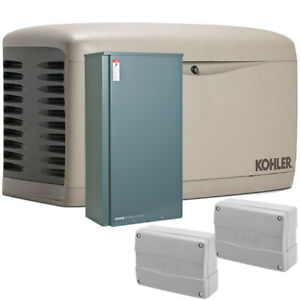 Kohler 20kw Composite Home Standby Generator Bundle 200a Service Disc W Lo