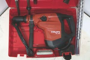 Hilti Te 70 80 60 56 Rotary Hammer Drill Preowned Excellent Condition Extras