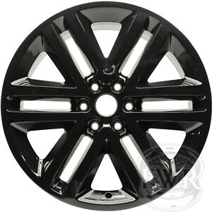New Set Of 4 22 Black Alloy Wheels Rims For 2005 2017 Ford F150 Expedition