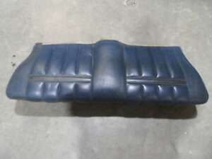 1969 69 1970 69 Ford Mustang Mercury Cougar Convertible Rear Seat Bottom Lower