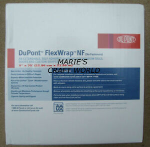 2 Rolls Dupont 9 X 75 Flexwrap Nf Tape Windows Door Tyvek Insulation Sill