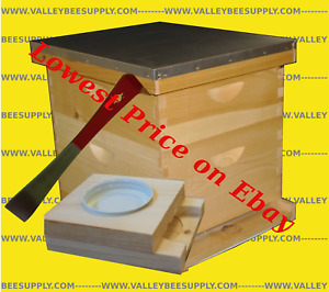 10 Frame Starter Pack Un assembled Hive W Free Feeder And Tools Pack