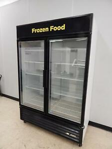 True 2 glass Door Merchandising Freezer Gdm 49f ld