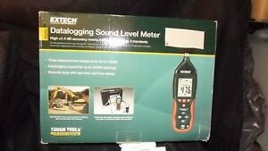 New Extech Hd600 Data Logging Sound Meter With Carrying Case