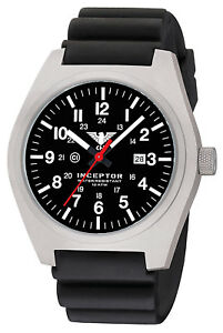 Police Watches Steel C1 light Date Swiss Movement Black Diver Band Wristwatches