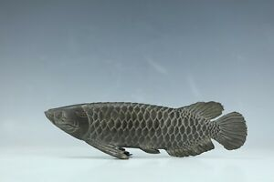 A Chinese Bronze Good Fortune Fish