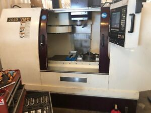 Chevalier 2040 Vmc Vertical Cnc Mill Comes With Tools