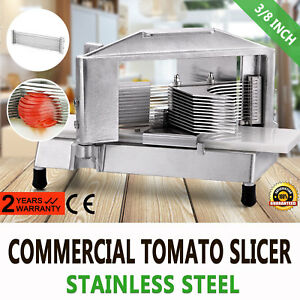 Commercial Fruit Tomato Slicer 3 8 cutting Machine Sharp Cutter Chopper
