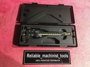 Carbide Od Id Jaws Mitutoyo Japan Made 6 In Absolute Digital Caliper