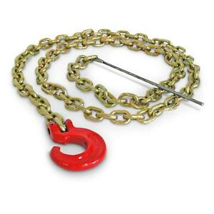 Logging Chain Choker Chain 7 Feet W Choker Hook Probe 1 4 Grade 70