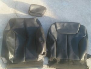 2006 2010 Vw Passat Front Passenger Seat Skin Only Black Leather