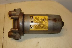 1972 Massey Ferguson 1130 Tractor Hydraulic Filter Canister Assembly 1100 1105