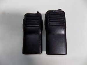 Icom Ic f24s F24s Uhf 400 470mhz 2ch 4w Portable Two Way Radio Lot Of 2