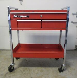 Snap On Kr 4200 Rolling Service Cart Tool Box No Shipping On This Item