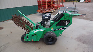 2013 Vermeer Rtx100 24 Trencher Honda Gas Engine 160 Hours Free Shipping