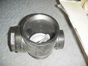 Emco Wheaton Retail A0079 020 4 X 2 X 2 Ball Float Extractor Valve New