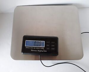 Electronic Digital Platform Weight Scale 300 Kg Lbs Oz With Charger Or 4aas