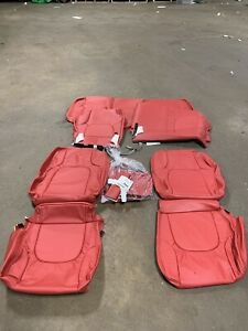 Katzkin 2010 2011 Suzuki Equator Crew Cab Red Leather Interior