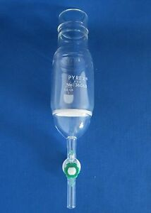 Pyrex 60ml Fritted Filter Funnel For Peptide Synthesis Coarse Frit